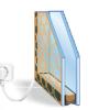 У нас в продаже появилось инновационное стекло с обогревом