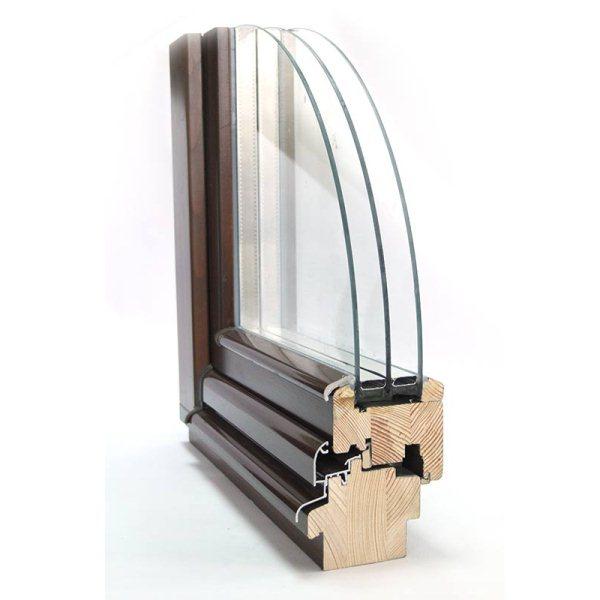 Окна из лиственицы