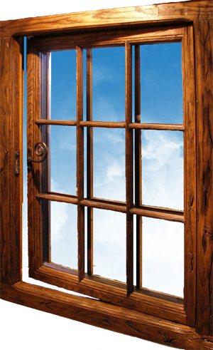 Окна под старину