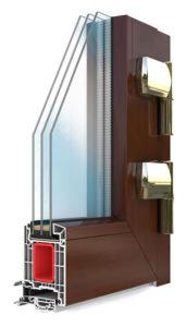 Входные ПВХ двери VEKA SOFTLINE 82 (Века Cофтлайн 82мм)